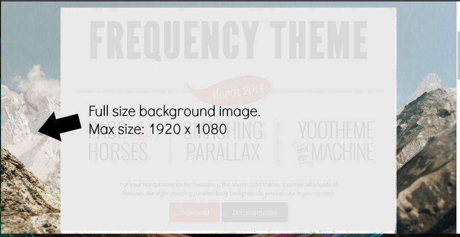 full size background image