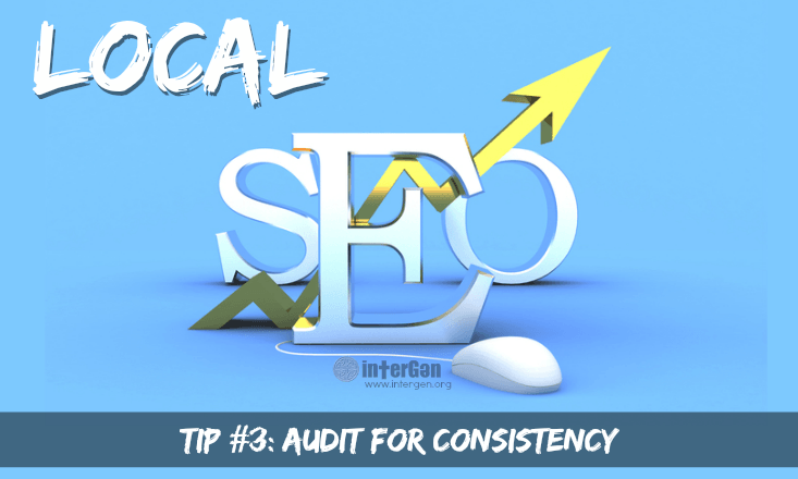 local seo audit nap for consistency